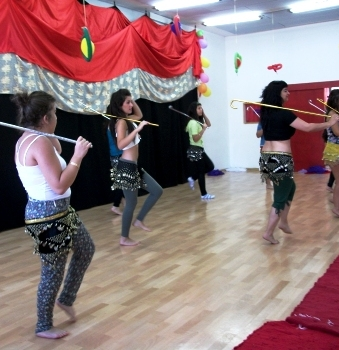 hen party belly dance class